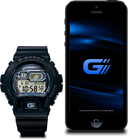 funzioni principali orologio bluetooth g shock casio. Black Bedroom Furniture Sets. Home Design Ideas
